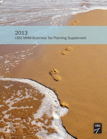 2011-2012 tax planning guide.