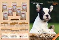 MASTERDOG Katalog 2009 - Masterhorse GmbH