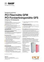Forstærkningsmåtte GFS og Fibermåtte GFM.indd - Basf