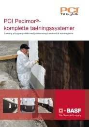 PCI Pecimor brochure - Basf