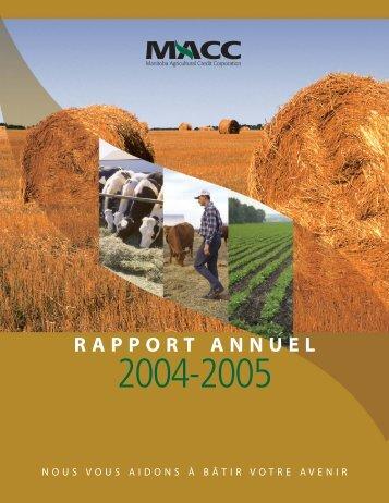 MACC Rapport Annual 2004/05