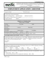 Adjustor Application Form - Manitoba Agricultural Services ...