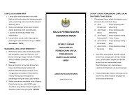 Syarat / Dasar dan Contoh Permohonan Lampu Awam MPSP