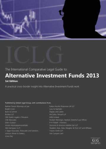 Alternative Investment Funds 2013, 1st Edition - Travers Smith