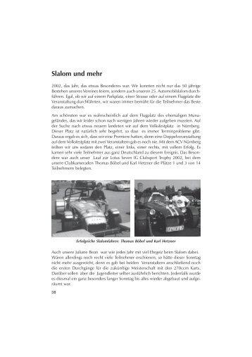 Slalom und mehr - AMC Feucht