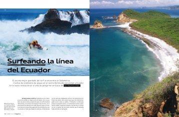 Surfeando la línea del Ecuador - Audi