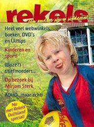 Heel veel webwinkels, boeken, DVD's en Uittips ... - Rekels.nl