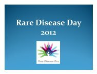 Rare Disease Day 2012 - Eurordis