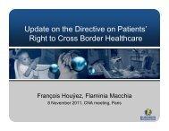 Right to Cross Border - Eurordis