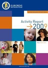 Activity Report - Eurordis