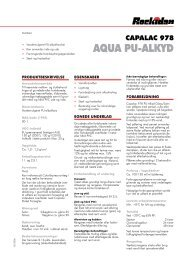 AquA Pu-ALKYD - Rockidan
