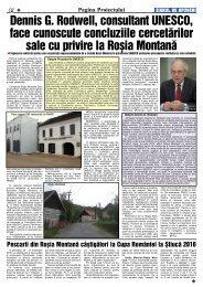 4 Pagina Proiectului - Ziarul de Apuseni