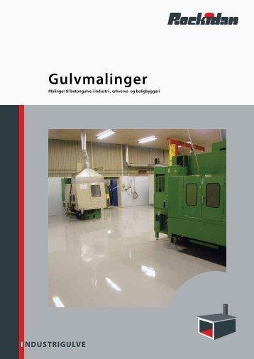 NDUSTRIGULVE I Gulvmalinger - Rockidan