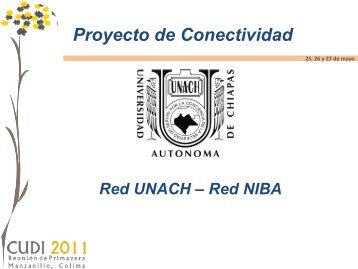 "Red Estatal UNACH ""Cero Maya"""