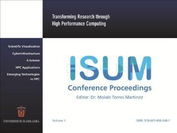 Presentación del Libro de Memorias de ISUM 2010 y Resultados de ...