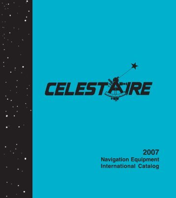 Navigation Equipment International Catalog - Celestaire
