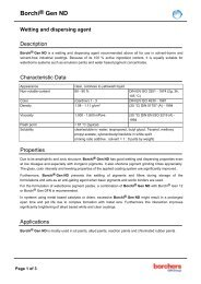 Borchi® Gen ND Wetting and dispersing agent - OMG Borchers