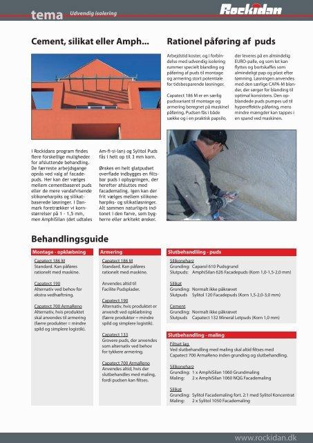 tema Udvendig isolering: Besparelse, beskyttelse & design - Rockidan