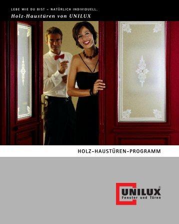 Holz-Haustüren - Unilux AG