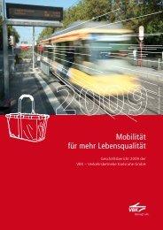 Geschäftsbericht 2009 - VBK