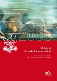 Geschäftsbericht 2008 - VBK