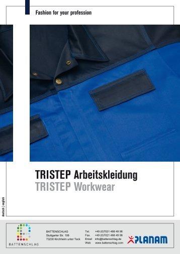 TRISTEP Arbeitskleidung TRISTEP Workwear - Battenschlag