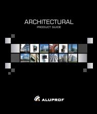 Architectural product guide - Aluprof