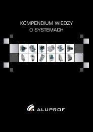 Kompendium wiedzy o systemach Aluprof_PL - Aluprof SA