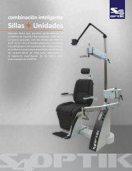 sillas +unidades de instrumentos
