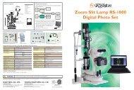 Zoom Slit Lamp RS-1000 Digital Photo Set - s4optik.com