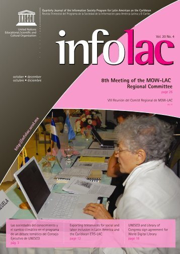 Disponible en formato PDF - Infolac