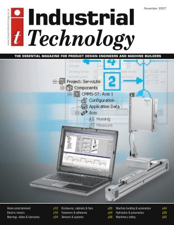 IT November 2007 - Industrial Technology Magazine