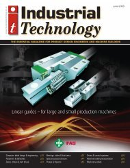 machine building & automation - Industrial Technology Magazine