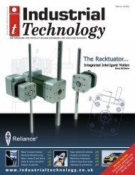machine building & automation - Industrial Technology Magazine