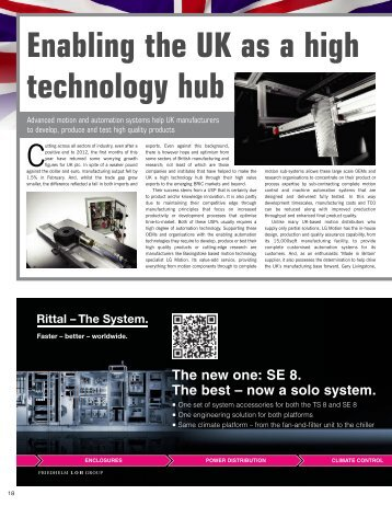View advert- Page 18 - Industrial Technology Magazine