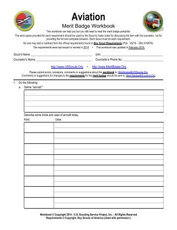 worksheets aviation merit badge worksheet opossumsoft worksheets and printables. Black Bedroom Furniture Sets. Home Design Ideas