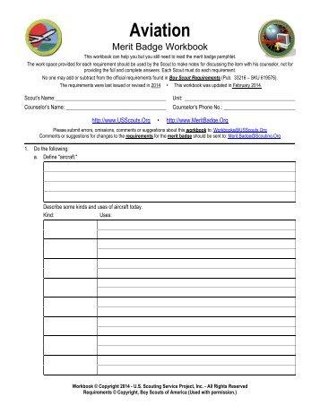 Worksheets Aviation Merit Badge Worksheet aviation merit badge worksheet answers photography worksheet