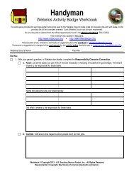 Membership Badge Worksheet