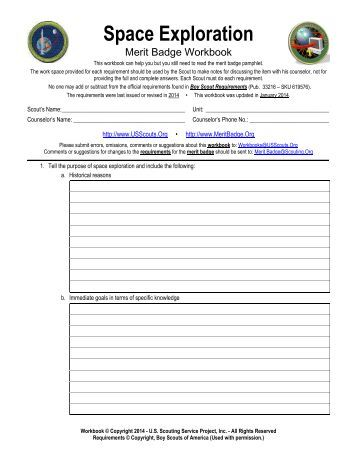 Archery Merit Badge Worksheet Answers - 28 templates - Meritbadge ...