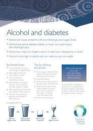 Alcohol and diabetes - Australian Diabetes Council