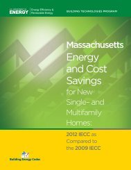 Massachusetts - Building Energy Codes