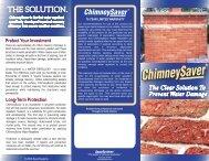 ChimneySaver Brochure - Top Hat Chimney Sweeps