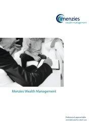 Menzies Wealth Management Brochure