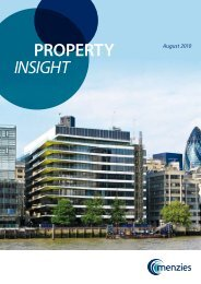 Property Insight - Summer 2010 - Menzies