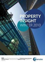Property Insight - Winter 2010 - Menzies