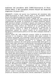 Clicca qui - Osservatorio di Pavia
