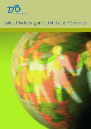 Sales, Marketing and Distribution Services - The Stationery Office