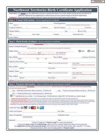 Manitoba Birth Certificate Application - VitalCertificates.ca
