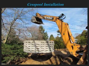Cesspool and Septic Tank Services