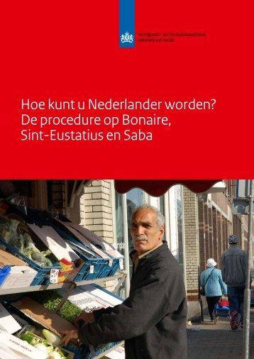 Hoe kunt u Nederlander worden? - Rijksdienst Caribisch Nederland